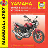 Haynes Yamaha YBR125 XT125 YBR125R X 2005-2013 Manual 4797 NEW