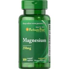 MAGNESIUM 250MG 100s MAY HELP BLOOD PRESSURE OSTEOPOROSIS INSOMNIA   DEPRESSION