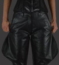 AW130 Hochwertige lederhose breeches,leather trousers,Domina reithose,chaps 40