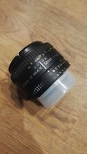 Objektiv 50mm 1:1,8D Nikon AF Nikkor (lichtstark, klassische Normalbrennweite)