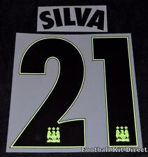 Manchester City Silva 21 2015/16 Uefa Champions League Name/Number Away