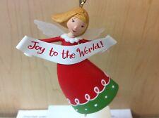 JOY TO THE WORLD! HALLMARK ORNAMENT 2010 ANGEL NEW IN BOX