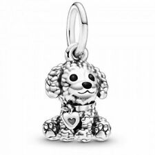 Neues AngebotPANDORA Charm Dangle Anhänger Element 798871 C01 Poodle Pudel Dog Silber Bead