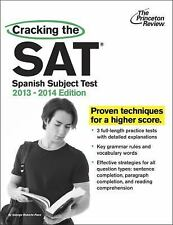 Cracking the SAT Spanish Subject Test, 2013-2014 Edition (College Test