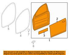Chevrolet GM OEM 11-15 Volt Front Door-Door Shell Right 22885532