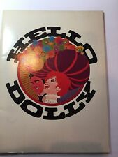 *Z 68 HELLO DOLLY COLOR JOURNAL 50 PAGES  BARBARA STREISAND WALTER MATTHAU MINT