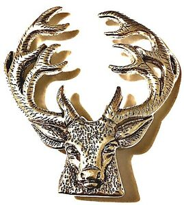 STAGS Head Brooch - BRAND NEW - Was £5.95 ~ **NOW ONLY £4.75 & FREE UK Postage**