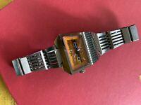 Vintage Men's Watch Pulsar Yellow  STARBURST Dial.