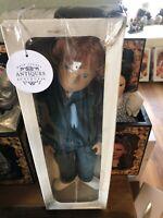 Sasha Red Hair Boy Doll Dressed In Blue Corduroy Original Box Fantastic Cond