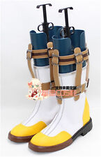 Tales of Zestiria Sorey White Adult Halloween Christmas Cosplay Shoes Boots X002
