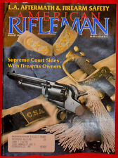 Magazine American Rifleman, AUGUST 1992 !!! RUGER M77 Mark II Varmint RIFLE !!!