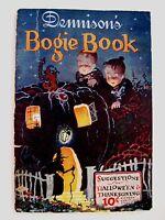 "RARE Vintage Dennison's ""Bogie Book"" Halloween & Thanksgiving Party Decorations*"