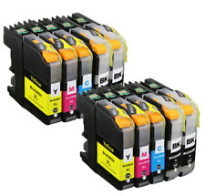 Color Ink Tank Set for Brother LC201 LC203XL MFC J460DW J480DW J885DW J880DW