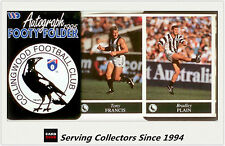 1995 AFL Footy Players Mini multifold picture Folder--Collingwood
