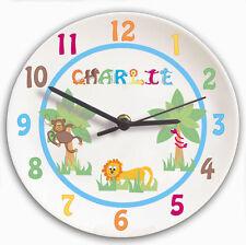 Animals Round Clocks for Children