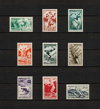 (YYAY 003) Monaco 1948 MNH Mich 339 - 347 Scott 204 - 208, CB7 - CB9 Olympics