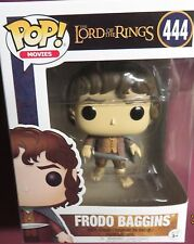 "BRAND NEW POP MOVIES, FROM  ""LORD OF THE RINGS"", FRODO BAGGINS, #444 FIGURE"
