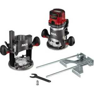 Skil RT1322-00 14 Amp Plunge and Fixed Base Router Combo
