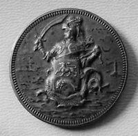 flandre - rare médaille chambre syndicale de conciliation de dunkerque argent