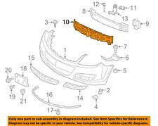 Saturn GM OEM 07-09 Aura Bumper Face-Foam Impact Absorber Bar 20827683