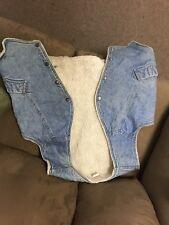 Levis Vest Vintage Vest Distressed Worn Denim Levis Jean Vest XL