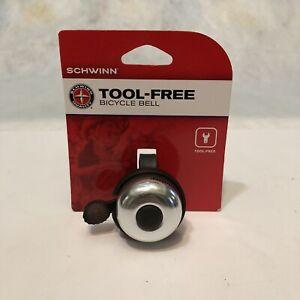 Schwinn Tool-Free Bicycle Bell Free Shipping