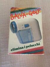 APPARECCHIO SALVA GOLF  - APPARECCHIO ELIMINA I PELUCCHI