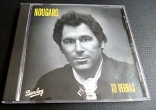 CD Claude Nougaro-Tu verras (1978) | 16 titre | Chansons France France