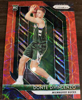 2018-19 Panini Prizm Choice Donte DiVincenzo Red Prizm RC #16/88 Mil Bucks!