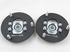 Camber Plates fit E36 Drift BMW top mounts for coilover Front x2 Domlager black