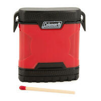 Coleman Match Holder With Striker Waterproof Camping Travel And Emergency Gear