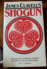 James Clavell's SHOGUN Game (1983, FASA) NIB still shrink wrapped!