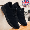 Mens Casual Lace Up Non Slip Memory Foam Walking Hiking Work Trainers Shoes 2020