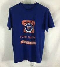Radiohead Never Ever Ever Never Pick It Up W.A.S.T.E. Mens T-Shirt Blue M