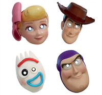 TOY STORY 4 PAPER MASKS PACK OF 8 PARTY FAVOURS SUPPLIES
