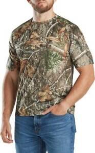 Magellan Men's RealTree Edge Camo Short Sleeve T-shirt Camouflage HuntingM L XL