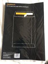 10 C4 peel & seal White Envelopes