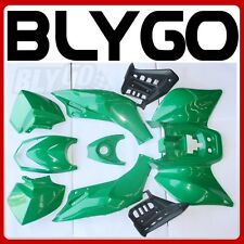 GREEN Plastics Fairing Fender Guards Cover Kit 125cc TIGER Quad Dirt Bike ATV