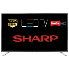"Sharp LC-40CFG4041K 40"" LED TV Full HD 1080p With Freeview HD Tuner Damaged Box"