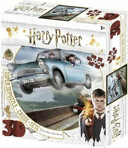 Jigsaw 3D Puzzle Harry Potter 300 Piece - Ford Anglia, Ron Weasley Harry Potter