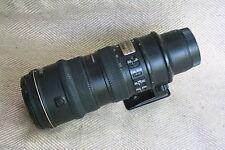 NIKON ED AF-S-VR-Nikkor 70-200mm1:2.8g + walimex 77 mm UV