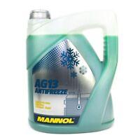 5L  Antifreeze Kühlmittel Kühlerfrostschutz grün AG13 bis -40°C  MN4013-5 Mannol
