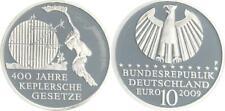 10 Euro Keplersche Gesetze  2009 Münzzeichen F Polierte Platte, in Münzkapsel