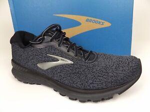 Brooks Mens Adrenaline Gts 20 Running Shoes, Men's Size 12.5 M, Gray/Black 20182