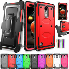 For LG Phoenix 4/Rebel 4/Fortune 2/Zone 4 Phone Case Shockproof Armor Hard Cover