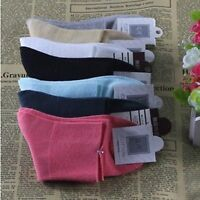 10 Pairs Women Comfort Non Elastic Cotton Socks For Diabetic/Medical Crew Socks