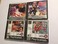 4 PS1 PLAYSTATION 1 PSone GAMES BUNDLE TEKKEN 2 II 3 III +GUILTY GEAR CRISISBEAT
