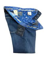 Jeans Tramarossa Mod. LEONARDO BOTTONI - Denim Blue - Uomo - 6 month confort