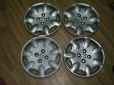 "13"" Peugeot wheel trims hub caps wheel covers, genuine, 4x, full set"