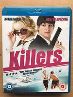 Ashton Kutcher Katherine Heigl Killers 2010 Action Romcom UK Blu-ray